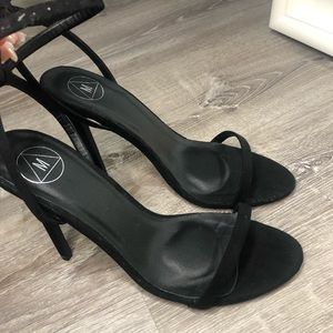 Misguided Black Heels